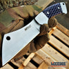 "Image of 8"" FIXED BLADE CLEAVER KNIFE MTECH FOREST HUNTING TACTICAL CAMPING RAZOR +Sheath"