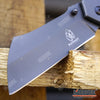 "Image of Little Cleaver Combo 2PC Grey Mini 6.5"" Cleaver + 8"" HUNTING CLEAVER RAZOR Blade"