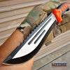 "Image of 12"" WILDLIFE HUNTING KNIFE SURVIVAL Fixed Blade Camping Tactical KNIFE w/Sheath"