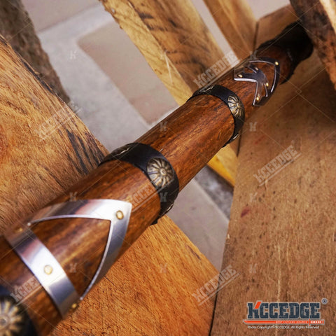 "19"" NATIVE AMERICAN TOMAHAWK PEACE PIPE HATCHET Replica with Functional Pipe"