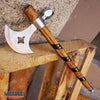 "Image of 19"" NATIVE AMERICAN TOMAHAWK Outdoor Camping Survival Axe Hatchet"