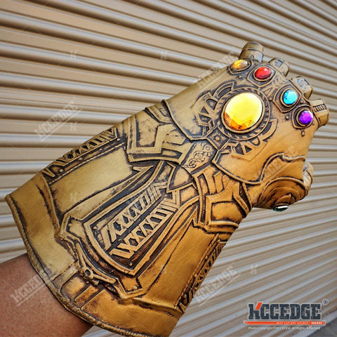 2018 Avengers 3 Infinity War Gauntlet Thanos Gloves Cosplay Prop Halloween XMAS
