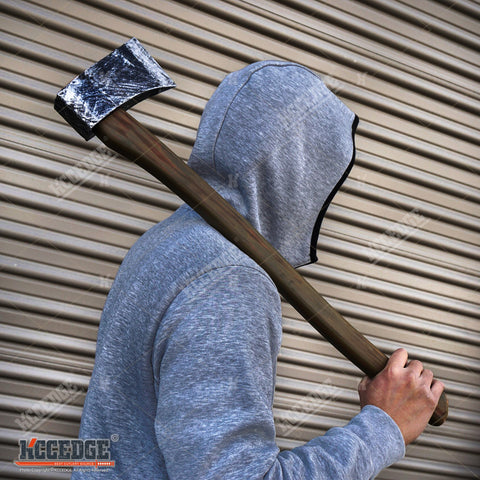 HALLOWEEN FOAM TOYS Cleaver Axe Bat Pipe Wrench Crowbar Hammer Prop Costume LARP