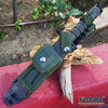 "Image of 12.75"" M9 BAYONET SURVIVAL Knife + Scabbard w/ Wire Cutter & Sharpening Stone"