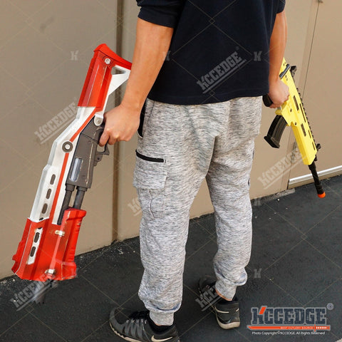 Fortnite 2PC COMBO Tactical Pump Action FOAM Shotgun 1:1 Prop Replica XMAS