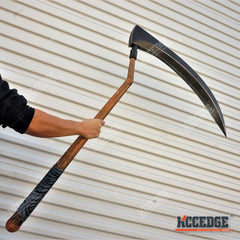 "1:1 SUPER LARGE Fortnite 45"" High Density Foam Scythe Pickaxe Props Reaper Xmas"
