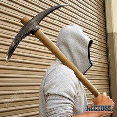"LARGE 1:1 ADULT SIZE Fortnite Battle Royale 27.5"" FOAM PICKAXE Props Cosplay"