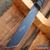 "Image of 11.5"" TACTICAL Fixed Blade BOWIE HUNTING KNIFE w/ Kydex Sheath"