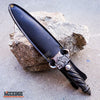"Image of 12.5"" DRAGON FANTASY CLAW Collectors Hunting Knife Gift Twin FIXED BLADE Dagger"