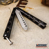 "Image of Counter Strike DULL 9.25"" ButterflyTraining Knife Stainless Steel Balisong"