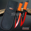 "Image of 2PC 9"" Jack Ripper High Impact Throwing Knife Set with Sheath Ninja Kunai Combat Technicolor Sharp Throwers Outdoor Throwing 5 COLORS TO CHOOSE"