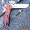"Image of 9"" TANTO CLEAVER RAZOR Blade Assisted Open Pocket Folding Knife"