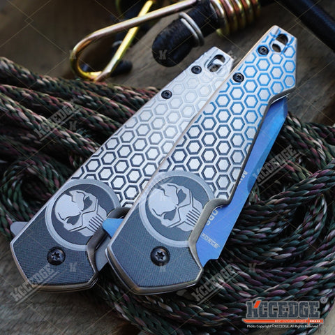 "7.75"" Tactical MIDNIGHT OPS TiNite Pocket Knife"
