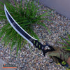 "Image of 24"" Fantasy TACTICAL NINJA Short Sword Scimitar SABER Blade with Sheath"