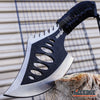"Image of 10.5"" Survival Hunting Axe Hatchet Camping Gear Survival Kit Cord Wrapped Handle"
