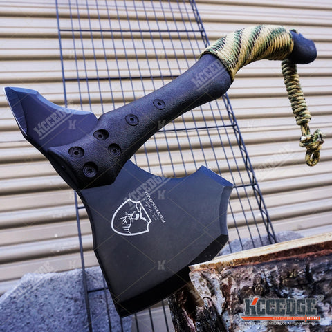 "11.25"" Elk Ridge Survival Hunting Professional Axe Hatchet Camping Survival Kit"