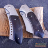 Image of 2PC Black Set BUCKSHOT CLEAVER + BUCKSHOT CLEAVER SHAVER STYLE Folding Knife