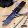 "Image of 8.5"" TAC FORCE BUTTERFLY KNIFE STYLE Assisted Open Folding Pocket Knife"