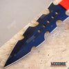 "Image of 3PC 7.5"" NINJA COMBAT Throwing Knife Set with Sheath"