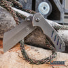"Image of Little Cleaver Combo 2PC Grey 6.5"" Pocket CLEAVER + 7.5"" WRENCH MULTI TOOL KNIFE"