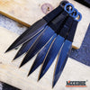 Image of 12PC Ninja Hunting KNIVES Full Tang Combat Naruto Kunai Throwing Knife Set Case