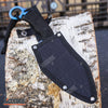 "Image of 10.25"" SURVIVAL Wartech Fixed Blade CLEAVER with Sheath"