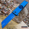 "Image of 7"" ASSISTED OPEN CLEAVER POCKET KNIFE W/ FIDGET SPINNER FEATURE OUTDOOR RAZOR"