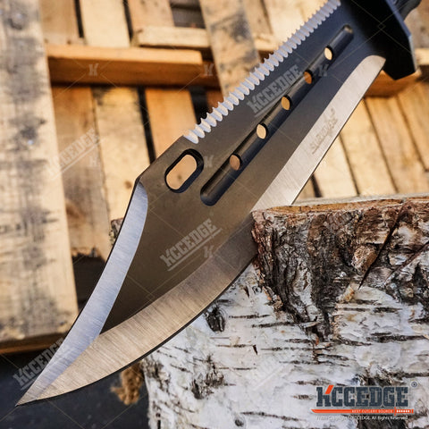 "14.25"" SURVIVOR Fixed Blade Jungle Bowie Knife"
