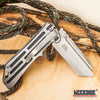 "Image of 8.5"" BUCKSHOT TANTO Blade Assisted Open Folding Pocket  Knife"