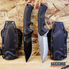 "Image of 9"" Rambo Combat FIXED BLADE KNIFE w/ Kydex Sheath & Belt Clip"