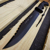 Image of Greek Warrior MOLON LABE KNIFE COLLECTIONS FIXED KNIFE JUNGLE HUNTING CAMP GEAR