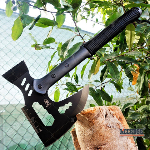 "17"" MULTIFUNCTIONAL SURVIVAL TOMAHAWK THROWING AXE"