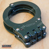Image of Special Force Hinge REAL Handcuffs METAL Double Lock TACTICAL Hand Cuffs Keys