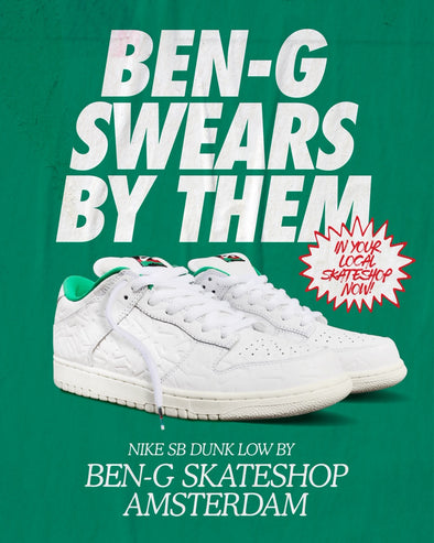 "Nike SB Dunk Low OG ""Ben G"" drops Saturday October 5th"