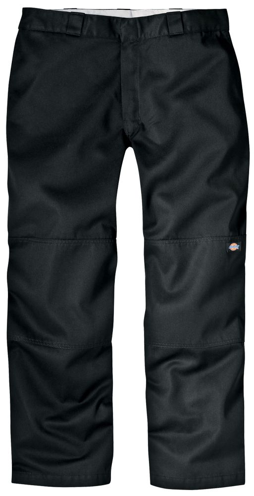 Dickies Loose Fit Double Knee Work Pant Length 30 - Black
