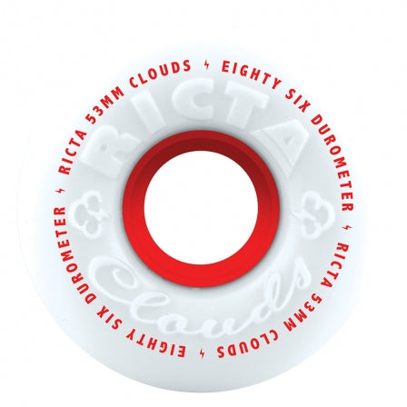 Ricta Clouds Red 86A - 53mm