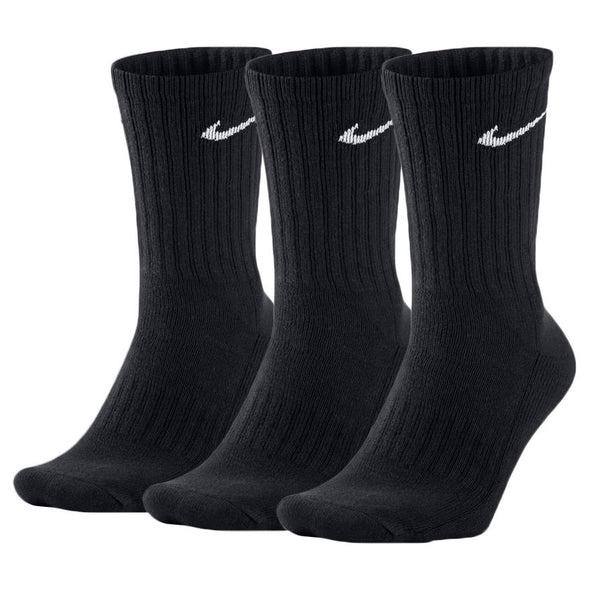 Nike Everyday LW Crew Socks 3 Pack - Black/White