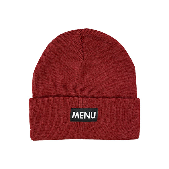 Menu Toque - Burgundy