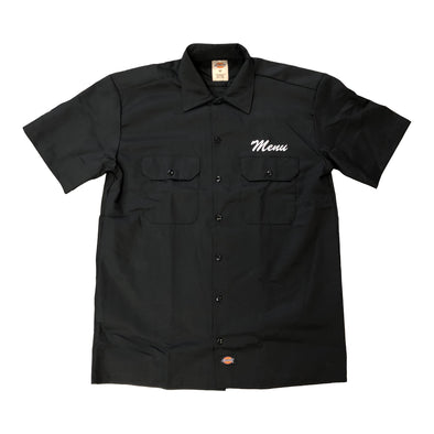Dickies S/S Work Shirt - Black