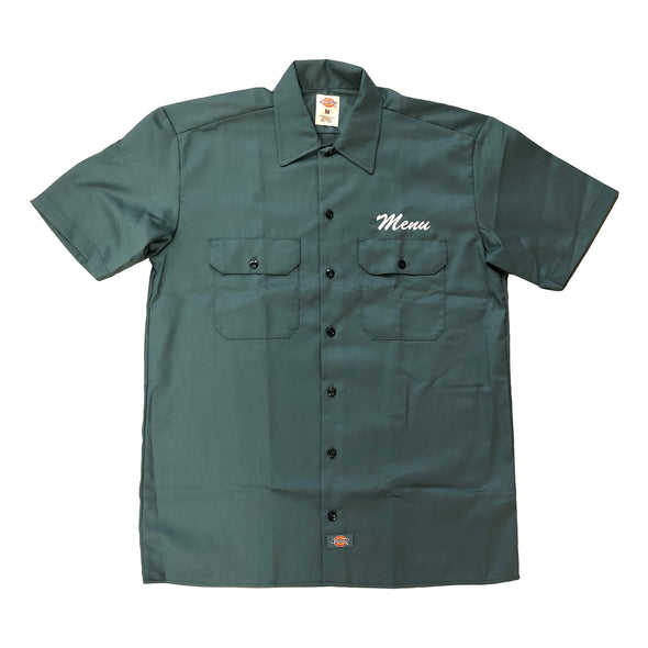 Dickies S/S Work Shirt - Lincoln Green