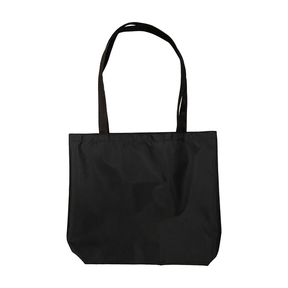 Menu Nylon Tote Bag - Black