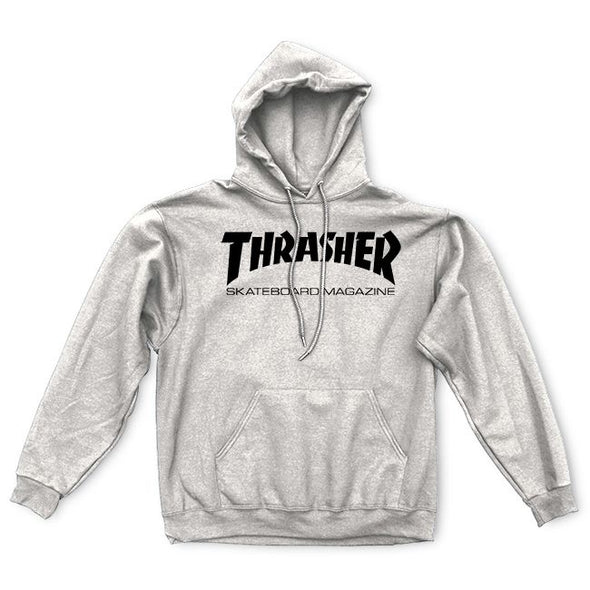 Thrasher Skate Mag Hoodie - Heather Grey