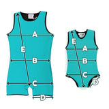 Custom Size Children's Wetsuit - Warm Belly Wetsuits