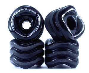 Sharkwheels Smoke Black Sidewinder 70mm