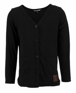 Signature Cardigan - Jet Black