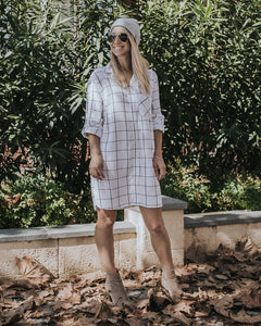 Grid Shirt Dress (Adults)
