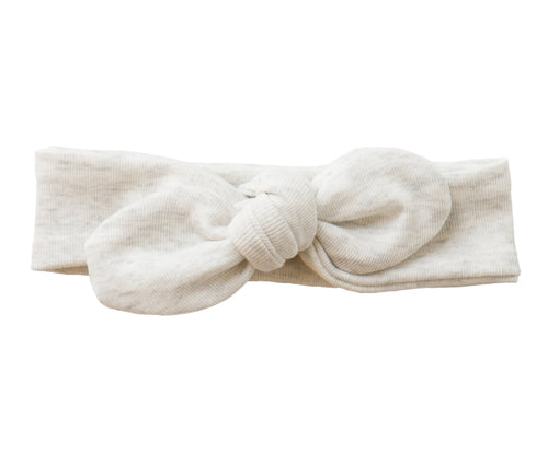 Heathered Cream Headband
