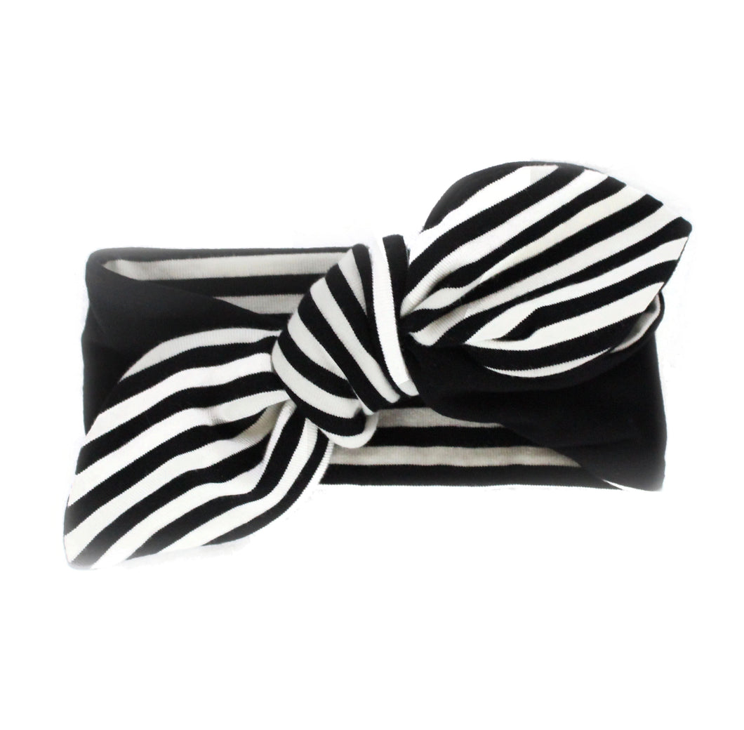 Chloe Knot Headwrap - Black