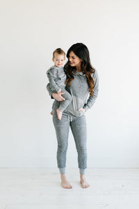 Gray & Gray Stripe Sweats (Kids)