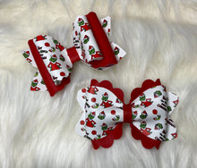 How the Grinch Stole Christmas leather bow